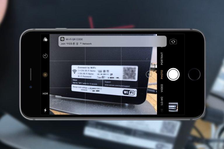 直達網絡 - iOS 11 開放相機鏡頭直接掃描 QR Code