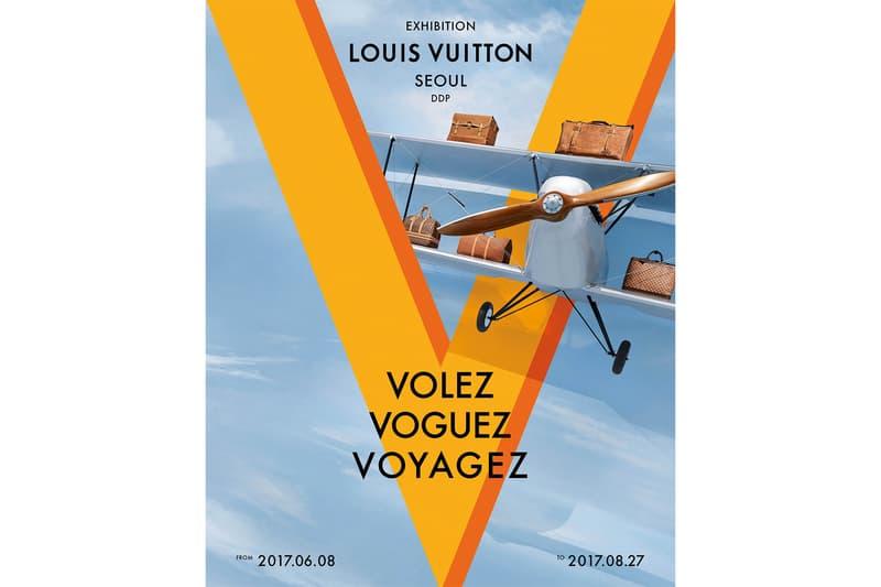 Louis Vuitton「Volez, Voguez, Voyagez」展覽將移師首爾續展