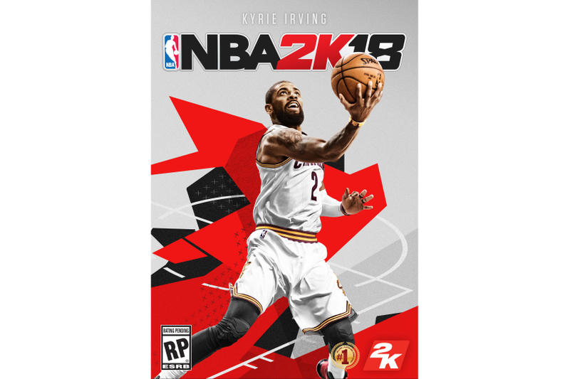 NBA 2K18 Standard Edition Cover Kyire Irving