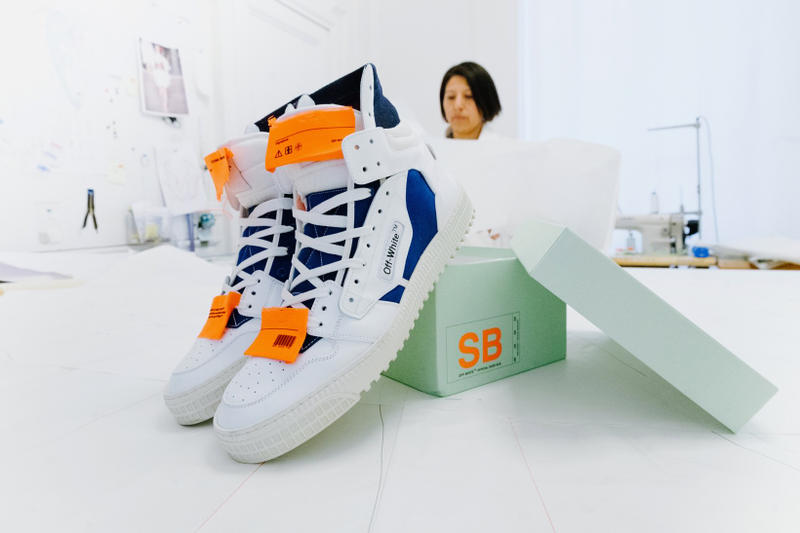 """OFF-WHITE """"Off-Court"""" Sneakers EM PTY GALLERY Paris"""