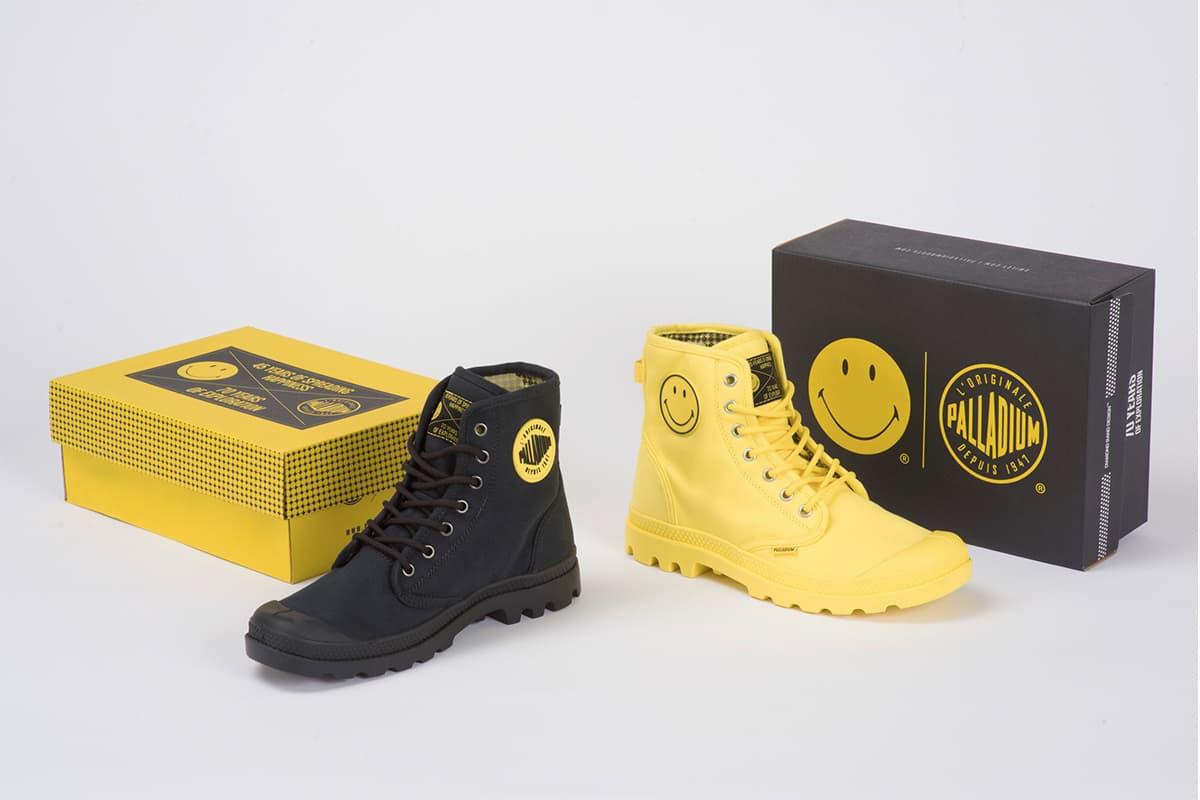 Palladium x Smiley 雙重紀念聯名鞋款
