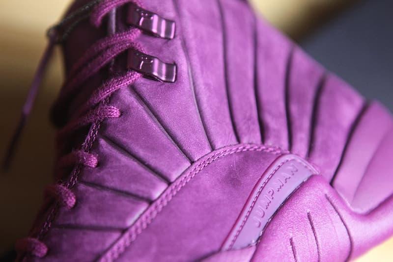"""PSNY x Air Jordan 12 """"Bordeaux"""" Closer Look"""