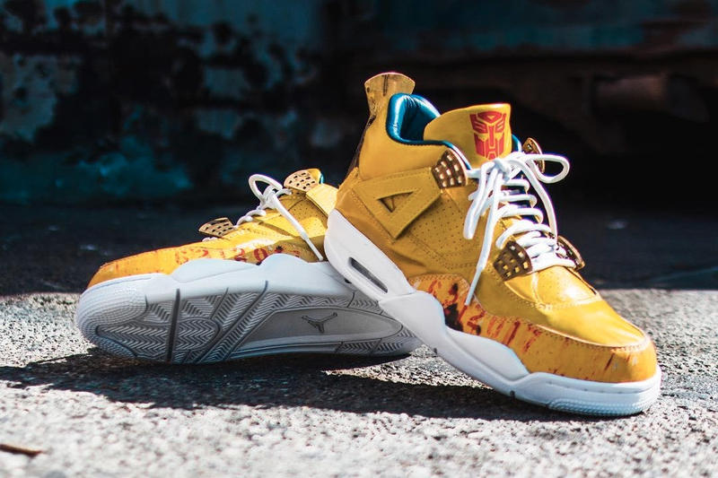 The Shoe Surgeon Air Jordan 4 Transformers Custom for Mark Wahlberg