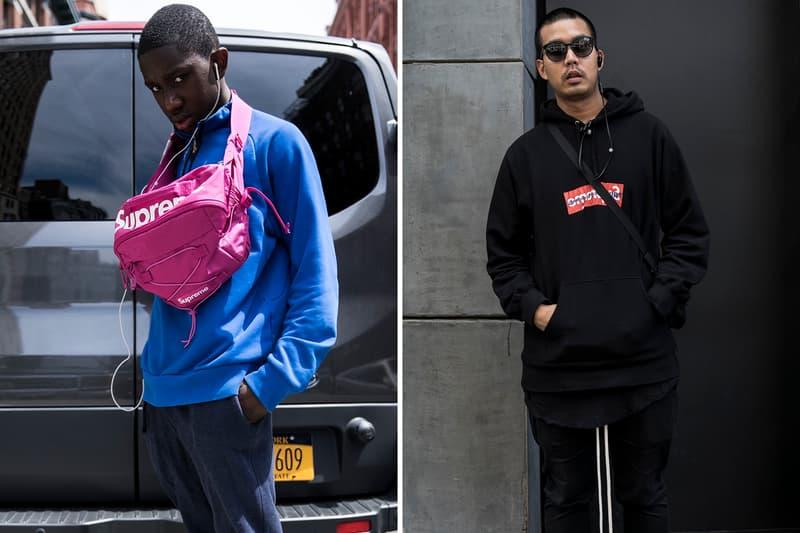 Streetsnaps: Thrasher x Supreme NYC Drop