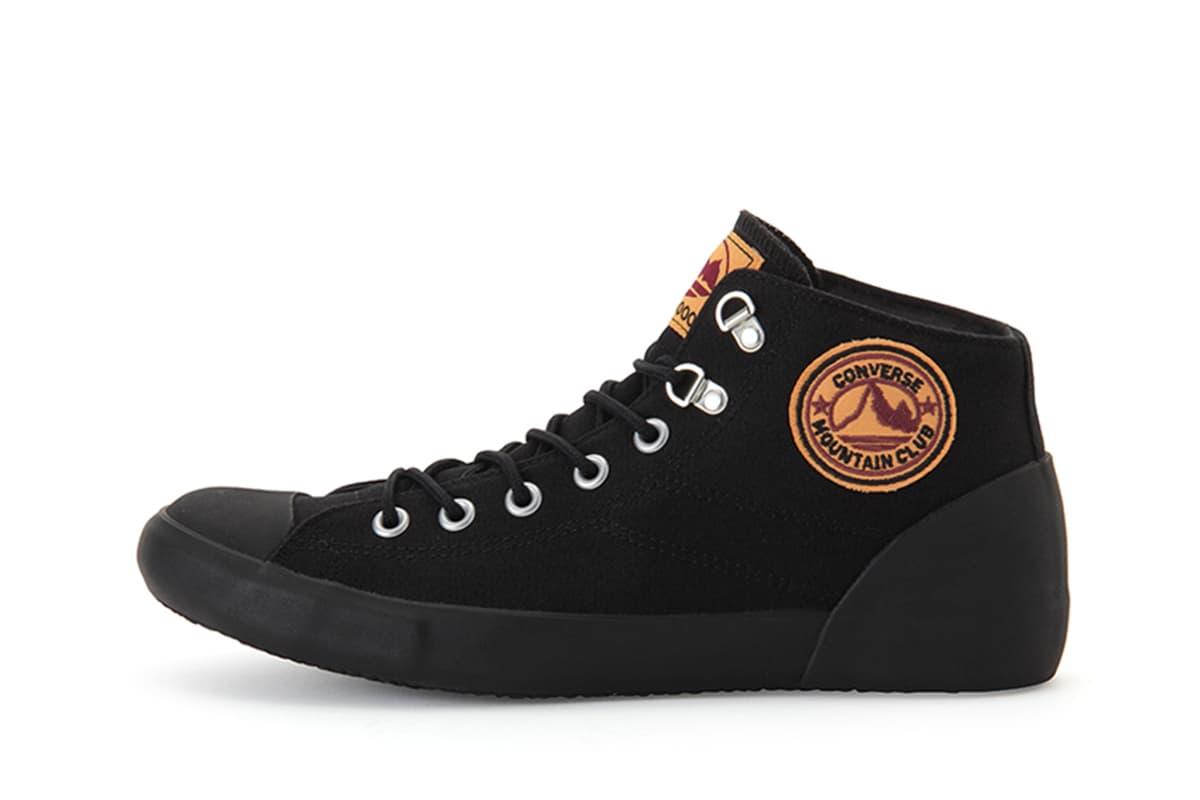 Converse 復刻 1988 年所推出的登山鞋款「Mountain Club」