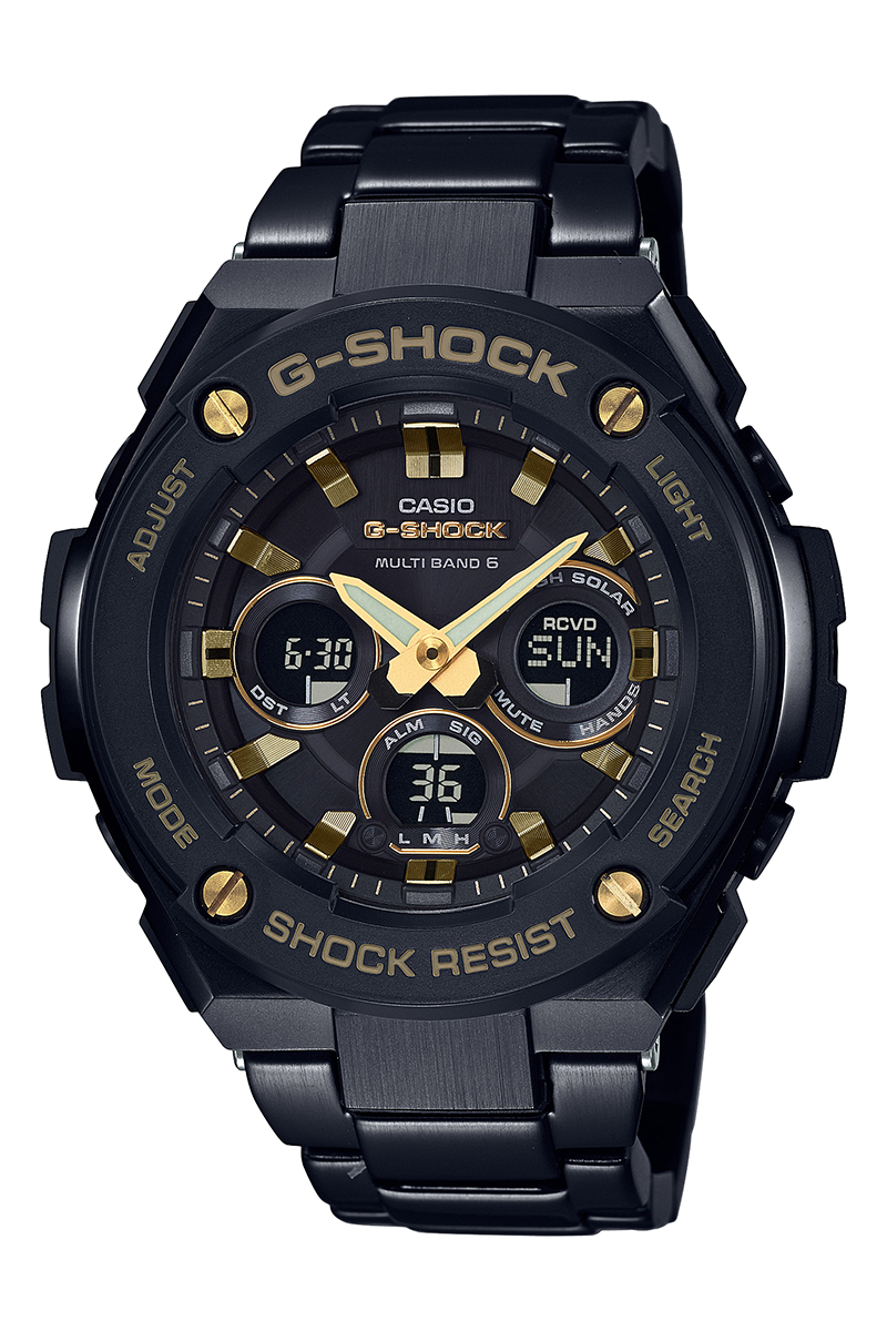 G-SHOCK released new G-steel collection