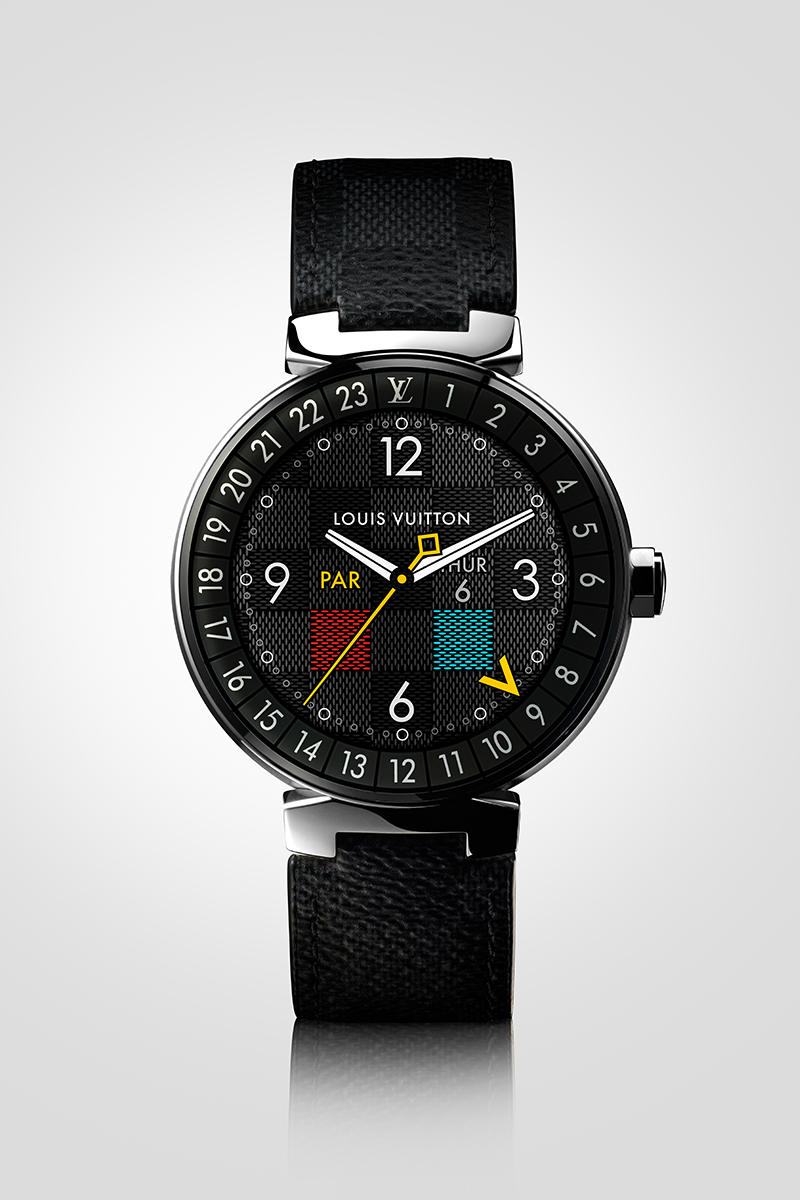 Louis Vuitton 首枚高端智能腕錶系列 Tambour Horizon,配備多項與旅行相關的貼心功能。