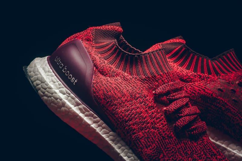 adidas UltraBOOST Uncaged Tactile Red/Dark Burgundy