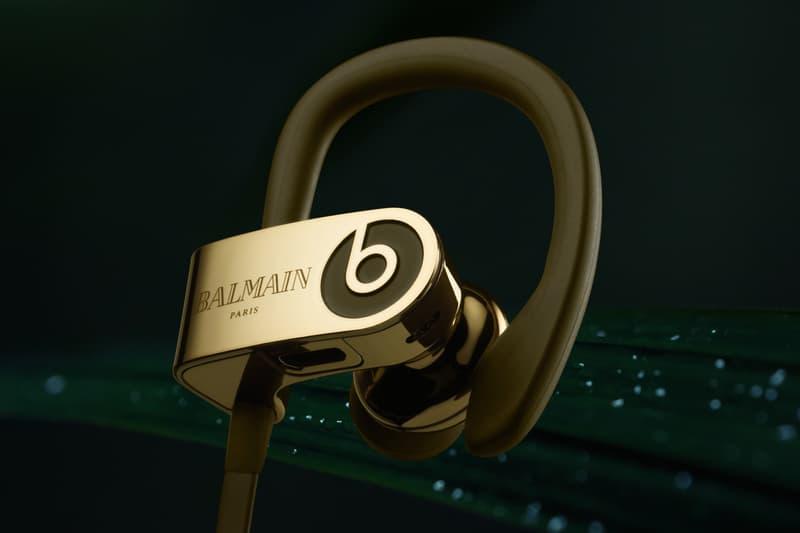 Beats by Dr. Dre x Balmain 聯乘系列耳機正式登場