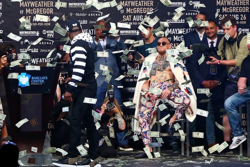 Floyd Mayweather vs. Conor McGregor 世紀之戰現場門票滯銷!?