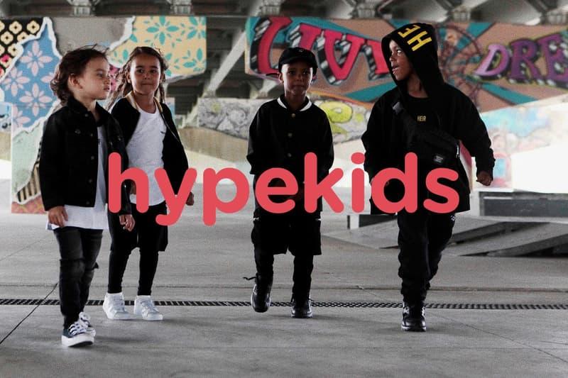 HYPEBEAST 最新企劃 hypekids.com 正式登場