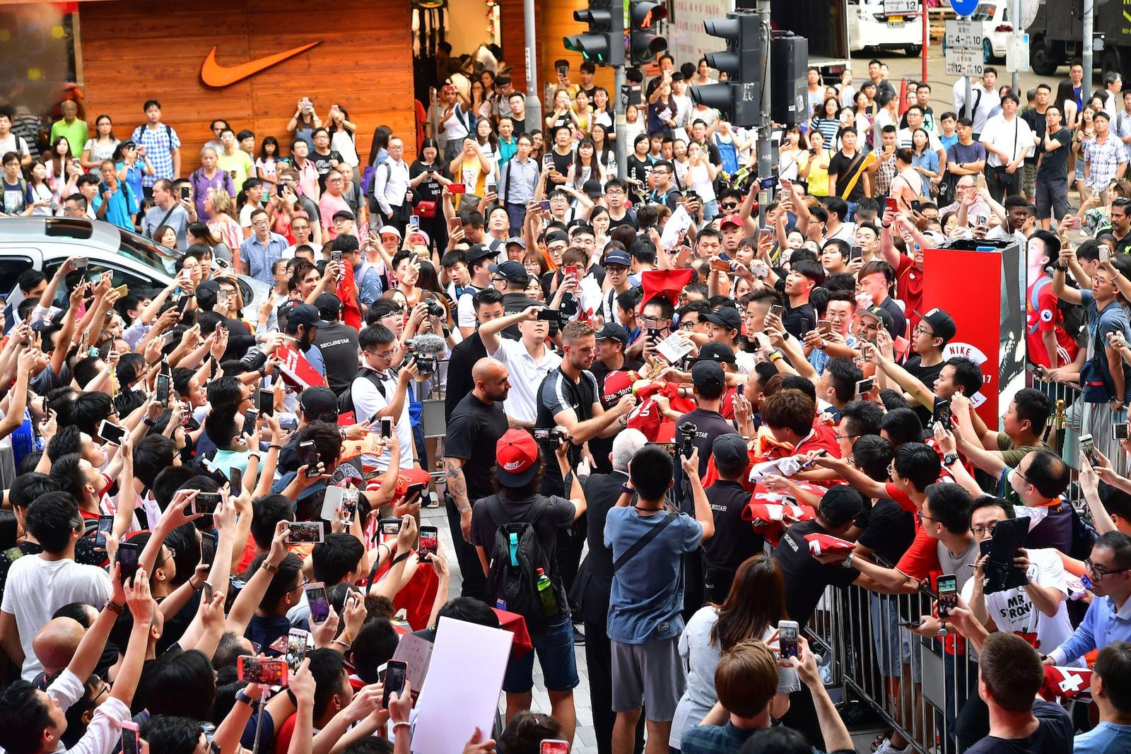 Nike Football 旗下利物浦球星 Jordan Henderson 向年輕球員分享奮鬥故事