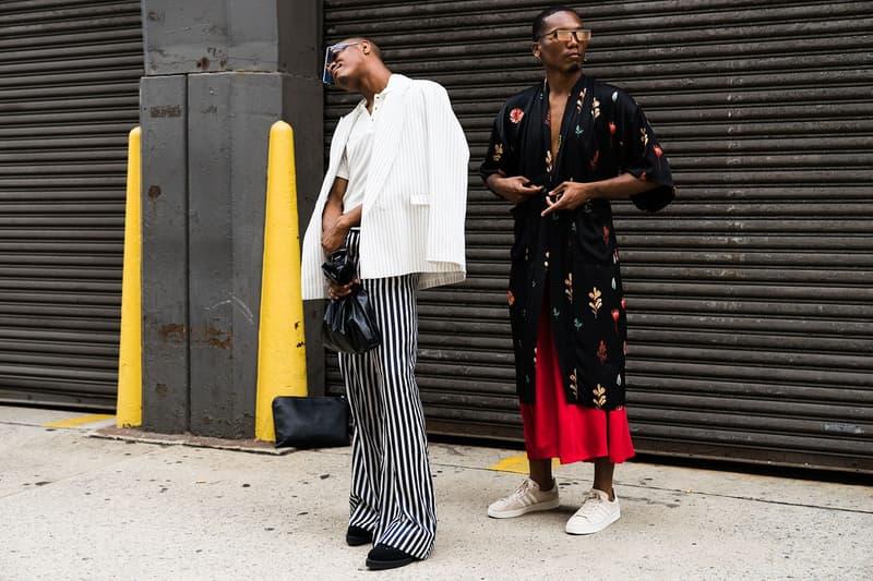 New York Fashion Week: Men's Street Style Day 2
