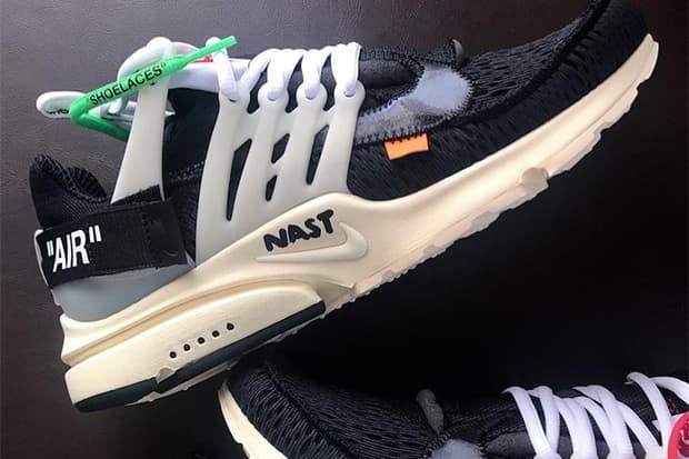 細節顯現 - OFF-WHITE x Nike Air Presto 聯乘鞋款首見