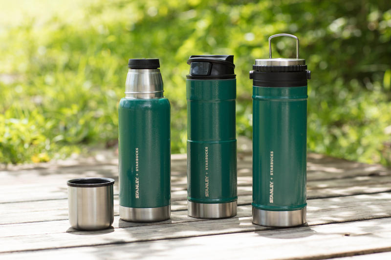 Starbucks 與 Stanley 推出聯乘版保溫壺及水杯系列