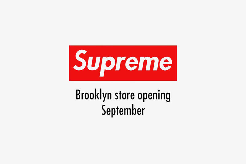 Supreme Store Brooklyn Opening Date