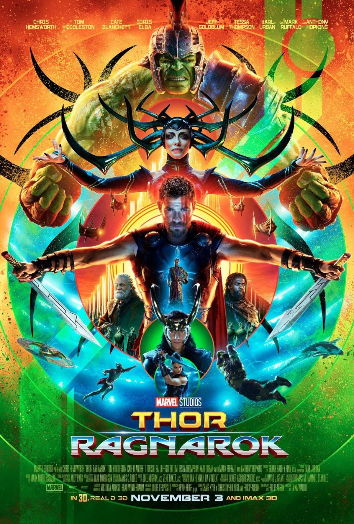 《Thor: Ragnarok》釋出最新宣傳海報 同時公佈此片將創 MCU 系列最短片長