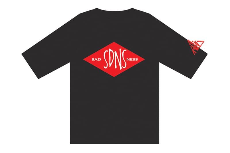 4PK 推出「SADNESS」惡搞 T-Shirt 系列