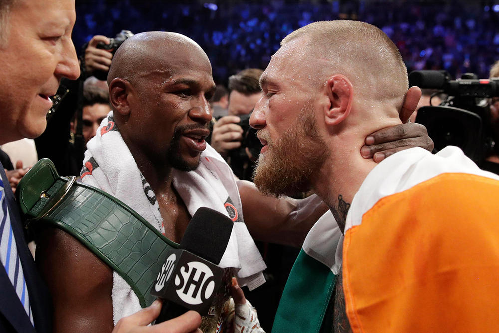完美句號-Floyd Mayweather 宣佈與 Conor McGregor 的「世紀之戰」將為生涯最後一戰