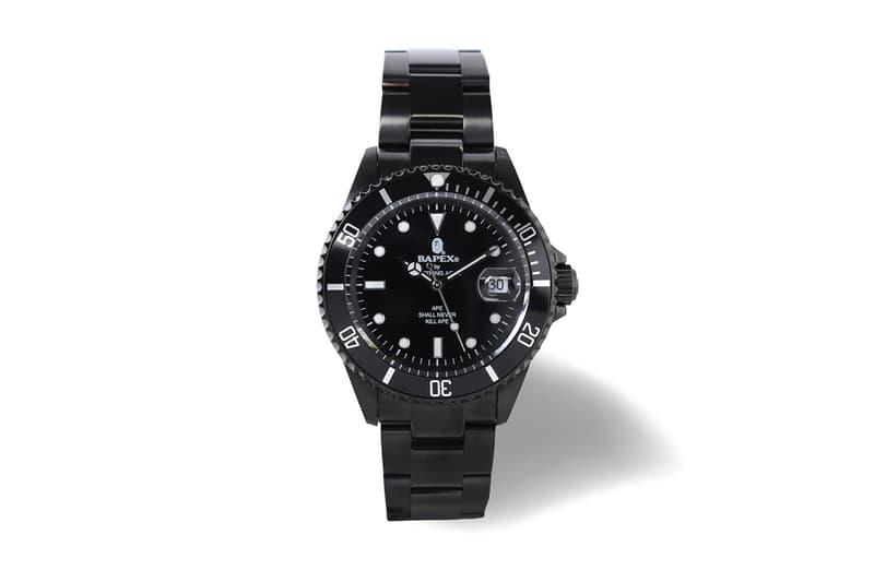 BAPE BAPEX Type 1 & 3 1st Camo All Black