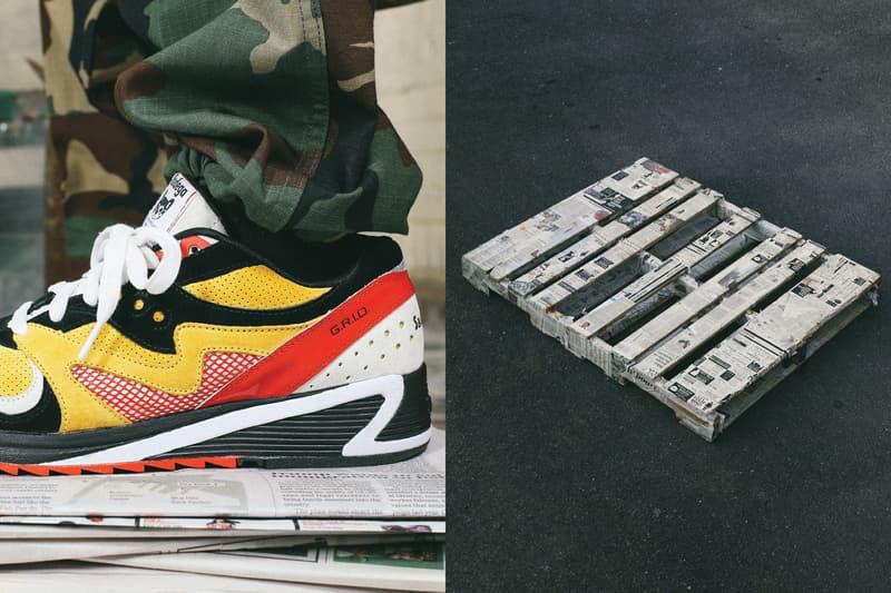 波士頓時尚名所 Bodega x Saucony 聯乘版 Grid 8000 鞋款