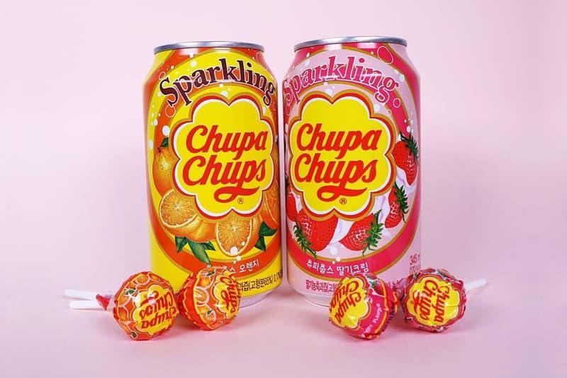 韓國 Chupa Chups 推出全新珍寶珠口味汽水