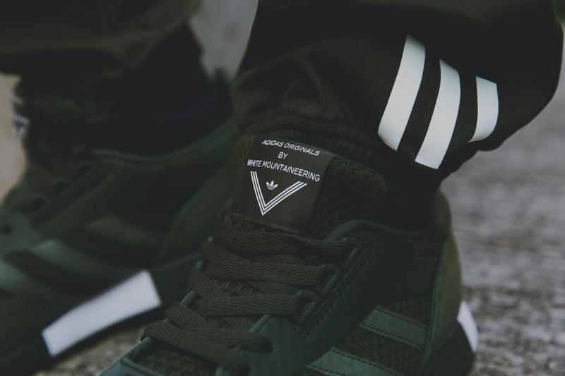 近賞 adidas Originals by White Mountaineering 最新 2017 秋冬系列鞋款設計