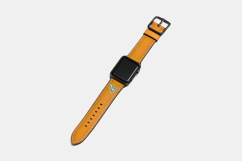 皮革品牌 Coach 推出新款 Apple Watch 錶帶