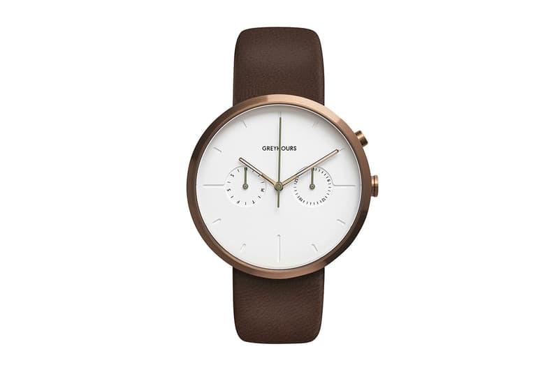 極簡主義-GREYHOURS 以高端物料製作的時尚腕錶