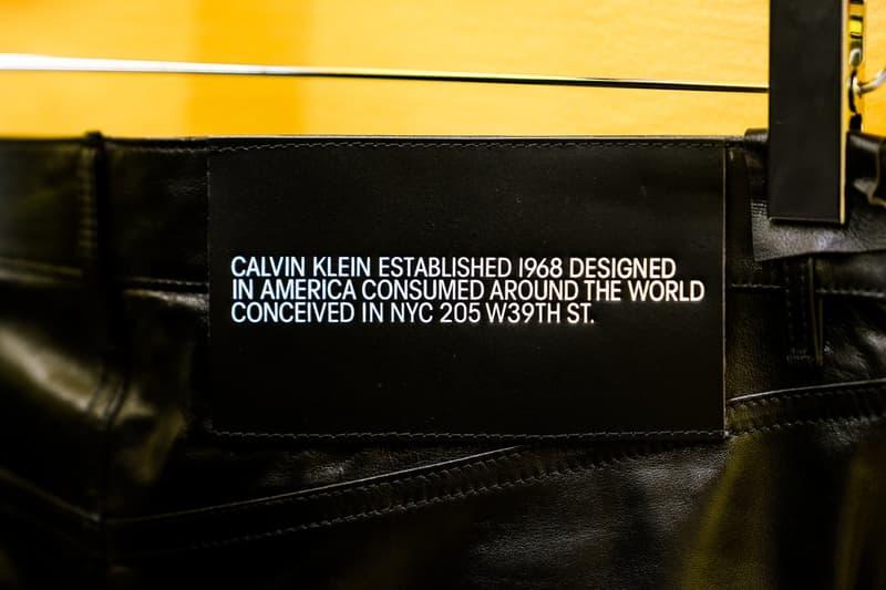 Raf Simons Sterling Ruby Calvin Klein Flagship Redesign