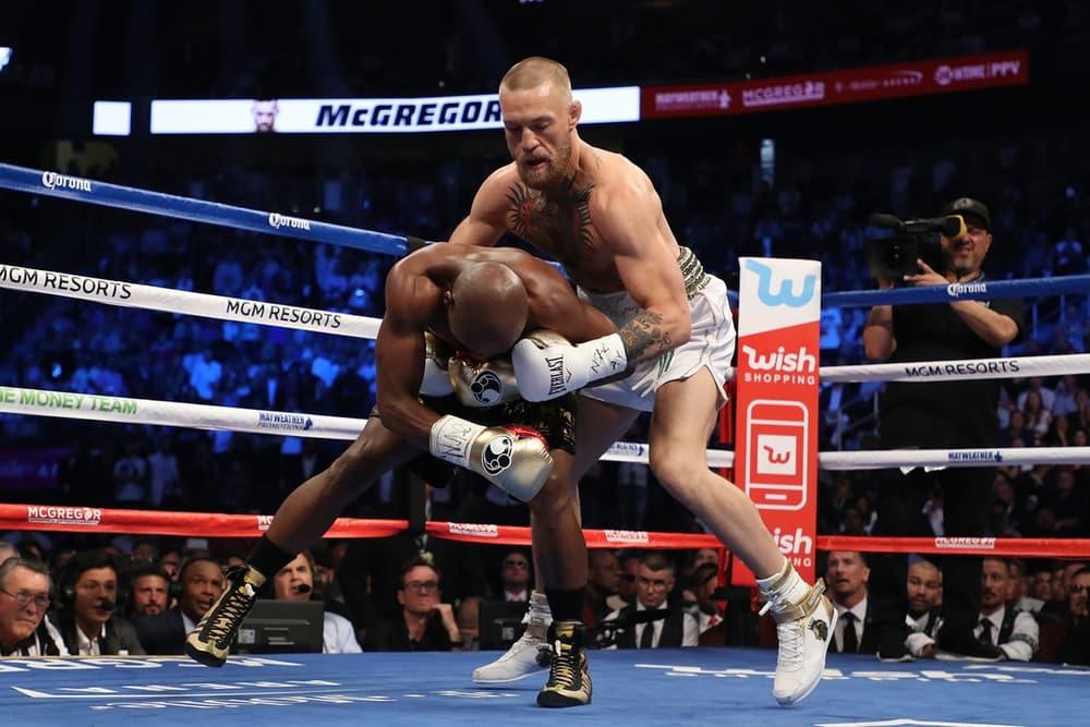 Floyd Mayweather vs. Conor McGregor 世紀之戰!Mayweather 在第 10 回合勝出!