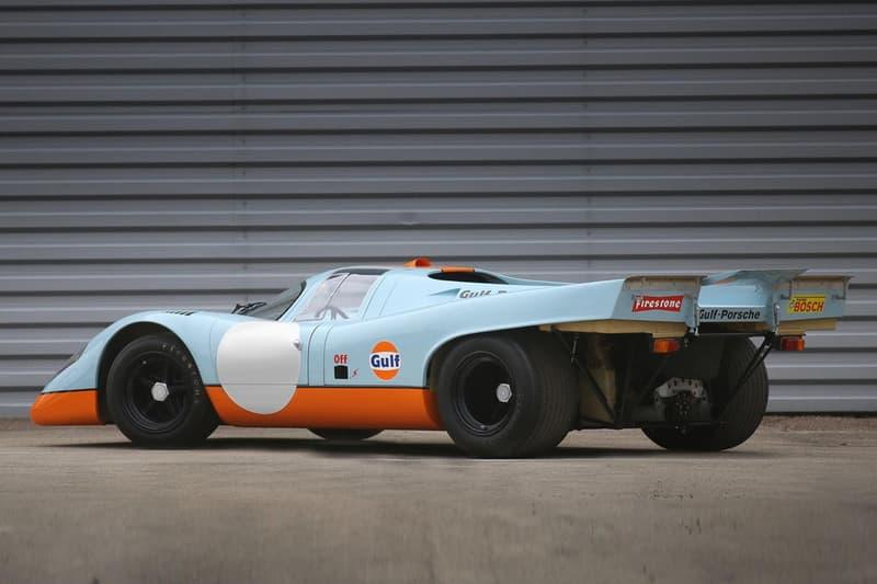 迄今最貴之 Porsche 跑車誕生!Steve McQueen 的 Porsche 917 過億成交!