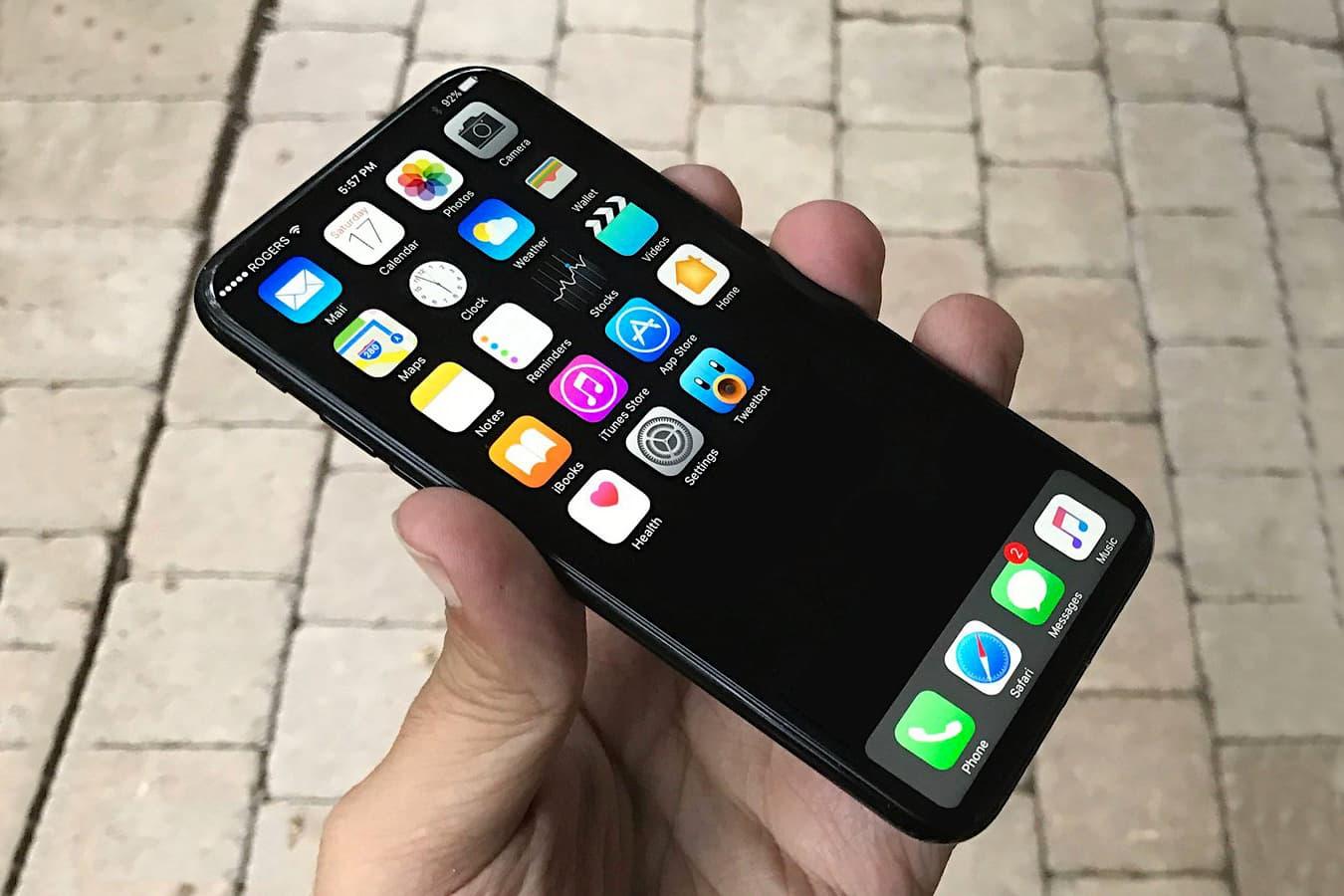 iPhone 8 將採用可隱藏的虛擬 Home 鍵設計?