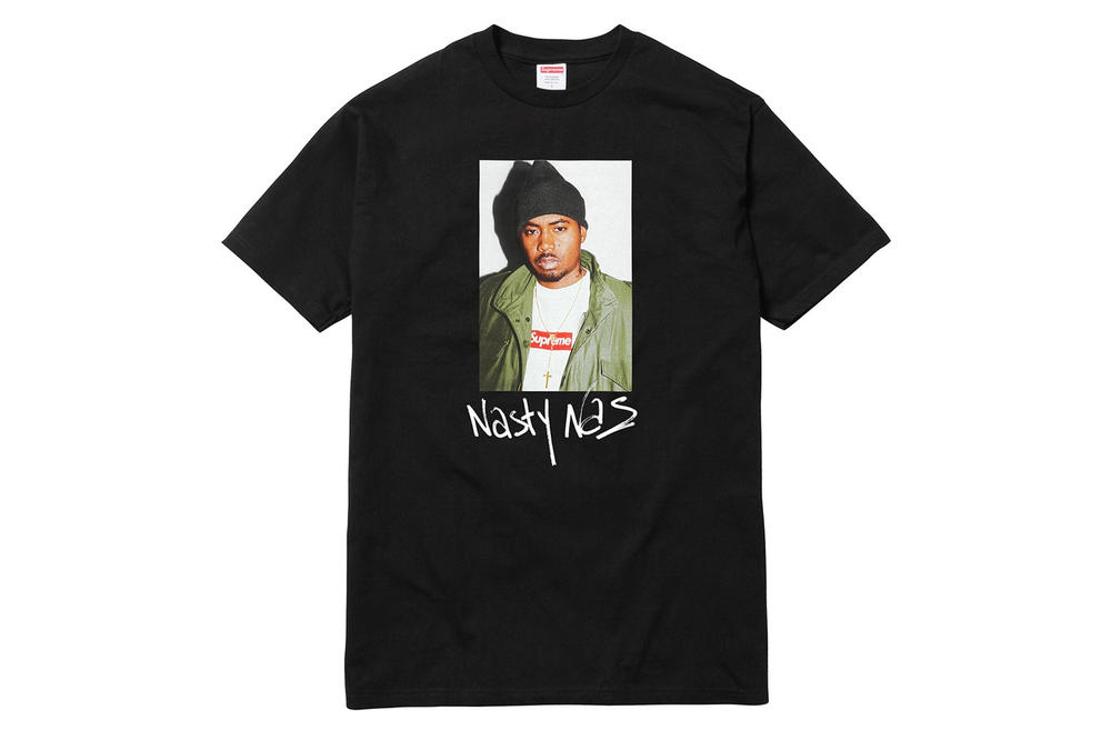 Nas x Supreme Tee Sold Out Time