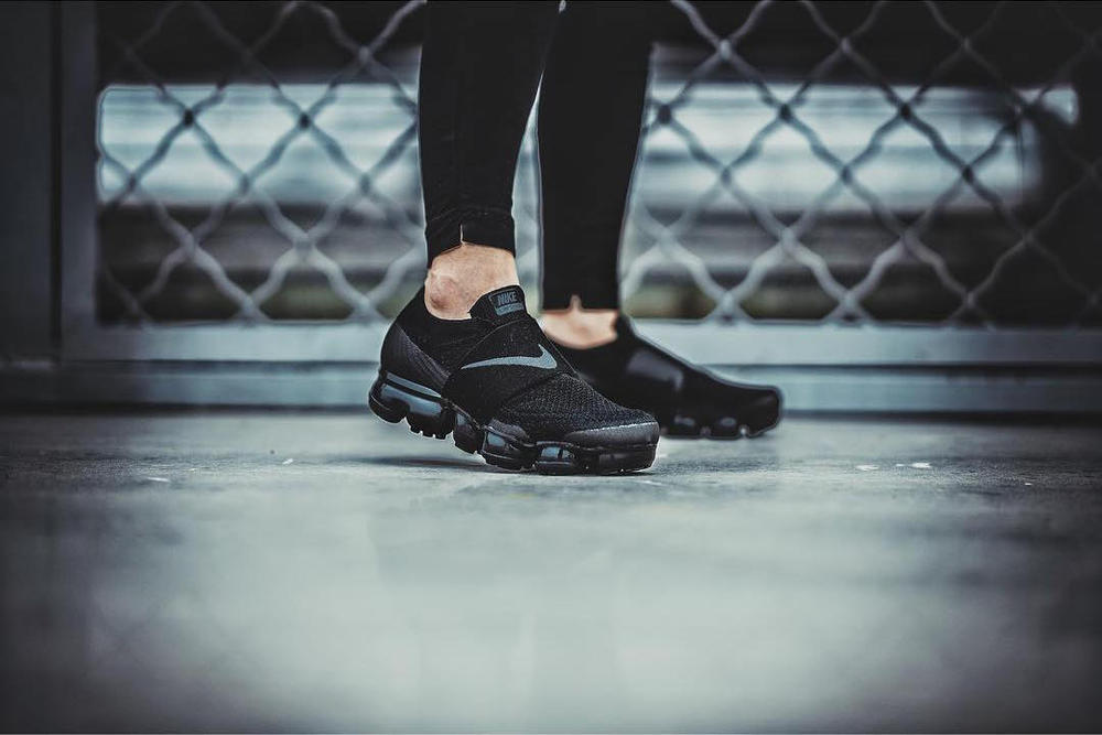 Nike Air VaporMax Laceless On-Feet