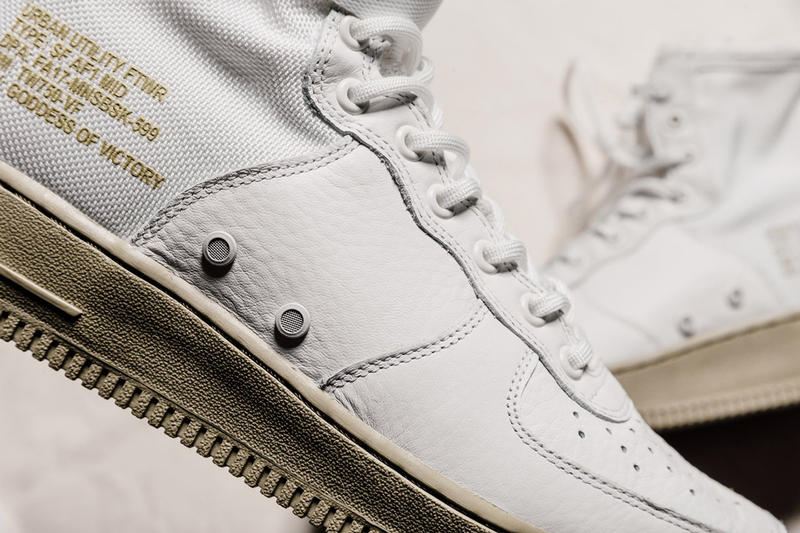 "Nike SF-AF1 Mid ""Neutral Olive"" Closer Look"