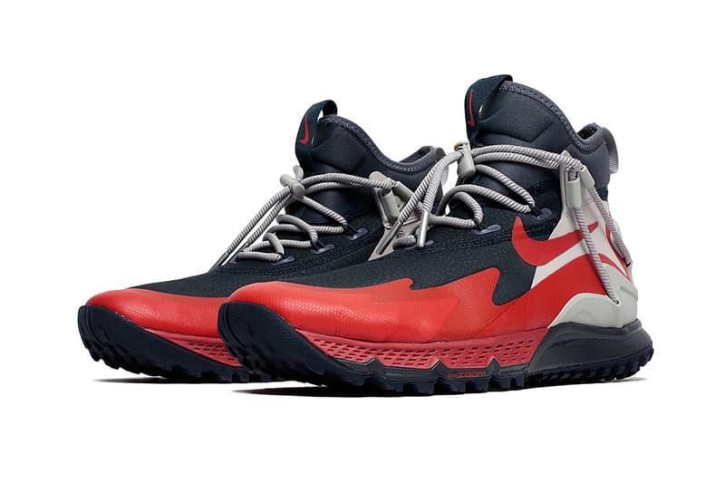 機能之備-Nike 推出紅黑配色 Terra Sertig Boot 登山鞋款
