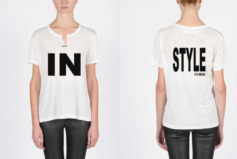 OFF-WHITE x《InStyle》聯乘 T-Shirt in K11 香港區發售情報