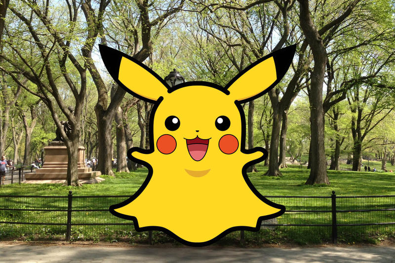 賺錢之道-Snapchat 新加入 Pikachu 作為其濾鏡效果
