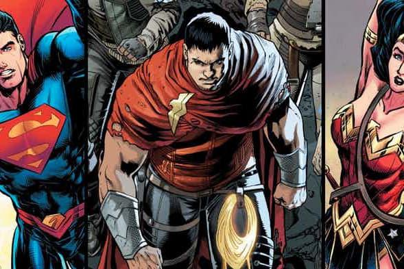 超級英雄後代 - Superman 與 Wonder Woman 之子角色曝光