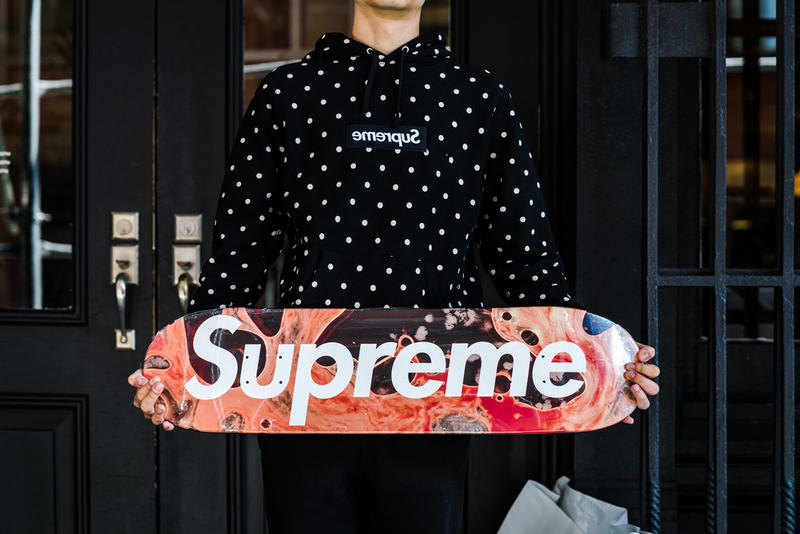 Supreme 2017 Fall/Winter First NYC Drop Photos