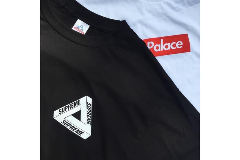 Supreme x Palace Parody T-Shirts