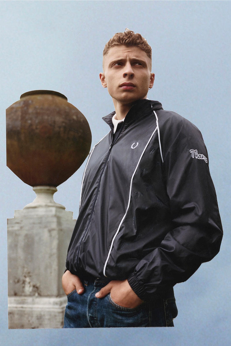 Thames London Blondey McCoy Fred Perry Collaboration