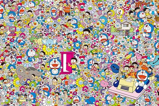 村上隆操刀 -「THE Doraemon 展 TOKYO 2017」主視覺一拳公開