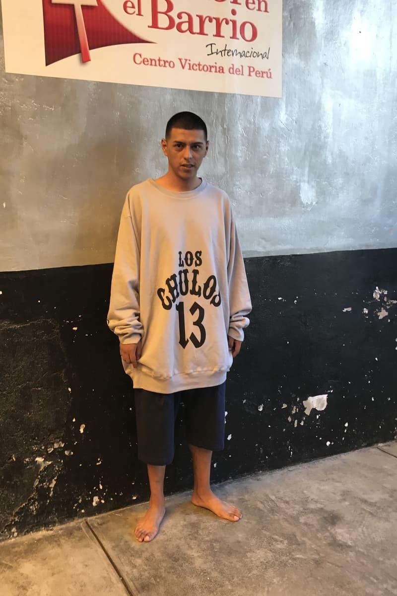 WILLY CHAVARRIA Lurigancho Peru Prison Uniform Collection