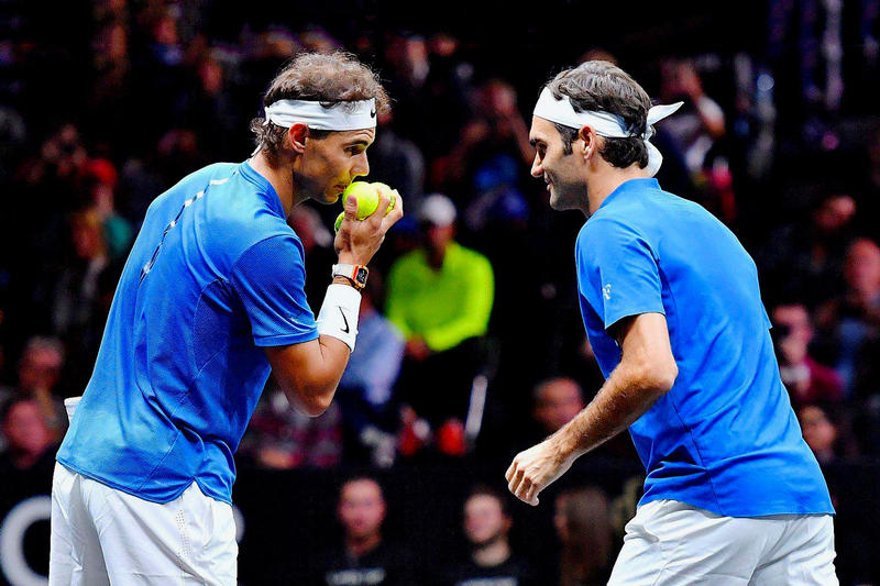 夢幻組合!Roger Federer 首度聯手 Rafael Nadal 出戰雙打比賽