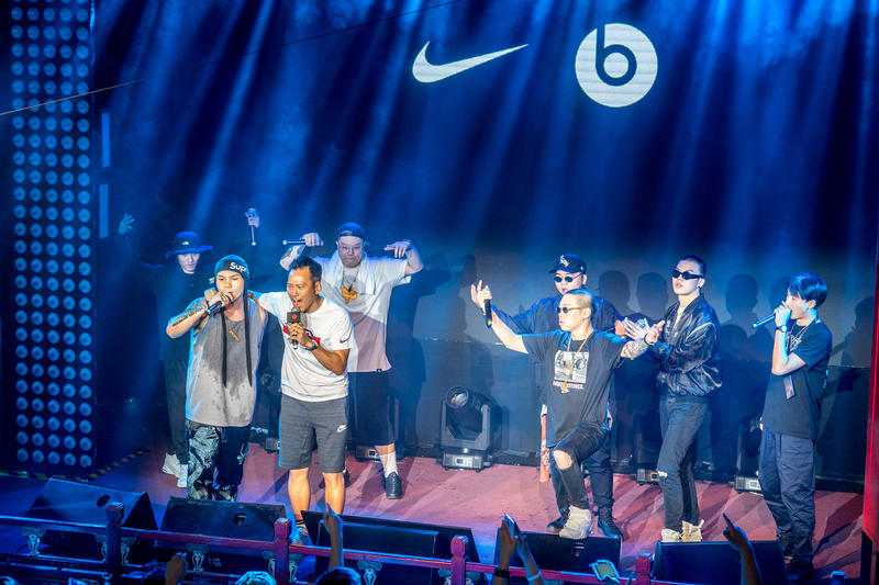Beats Nike LeBron James Beijing Party Desiigner