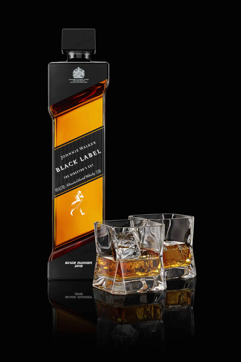 《Blade Runner 2049》x Johnnie Walker 限量版 Black Label The Director's Cut 威士忌