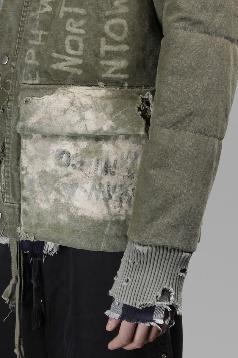 Greg Lauren 推出復古破壞軍風外套