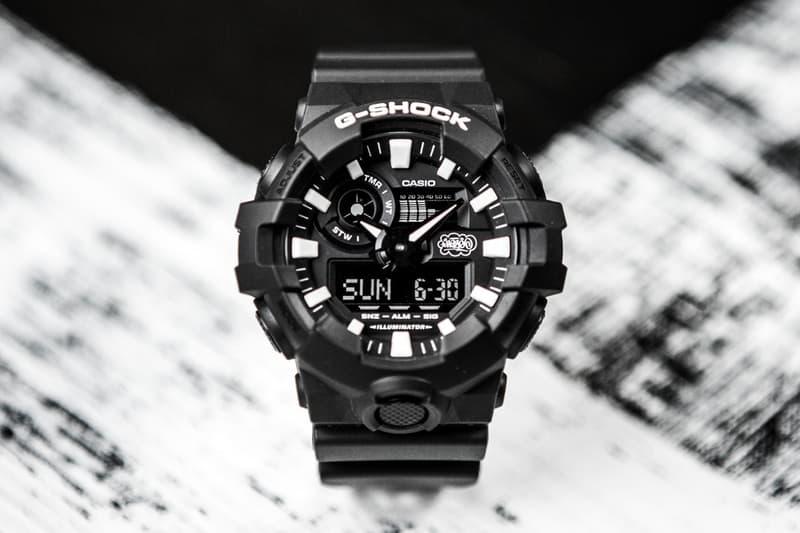 Eric Haze x Casio G-Shock 聯名推出三十五周年別注手錶